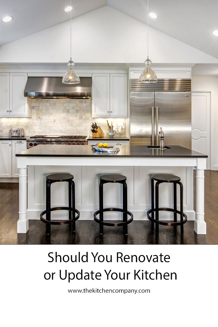 Do You Need To Rip It All Out And Start Over, Or Could Some Small Updates  Have A Big Impact On How Much You Love Your Kitchen?