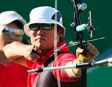 矢を放つ古川 :フォトニュース - リオ五輪・パラリンピック 2016:時事ドットコム