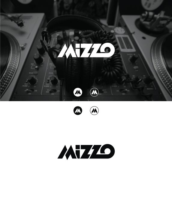 Deep fry a logo and sprinkle it with powdered sugar for Mizzo by MCS.logo