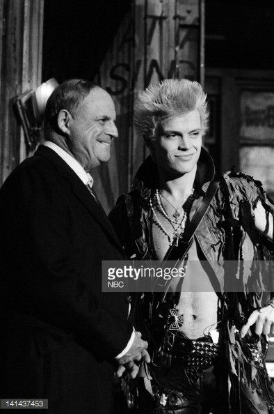 Don Rickles and musical guest Billy Idol on SNL (January 1984)