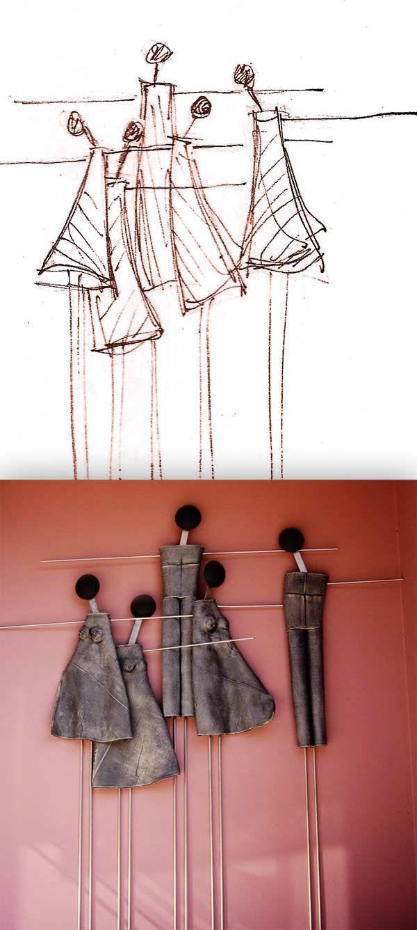 3d wall art ceramics χειροποιητα εργα τεχνης | Anastasaki Ceramics