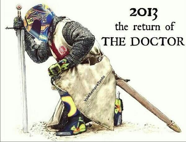 The Return Of The Doctor - valentino-rossi Photo