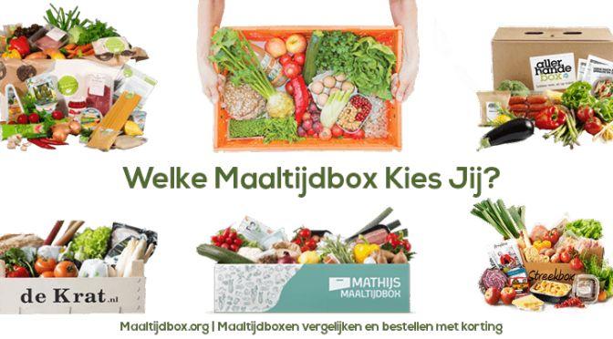 Welke maaltijdbox past bij mij? - Lovemyfood.nl