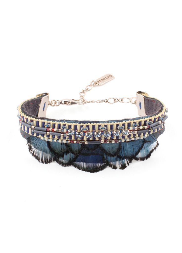 Achetez le bijou Bracelet Satellite Indian Amazon bleu , pour 165,00€ seulement sur le site officiel Satellite Paris