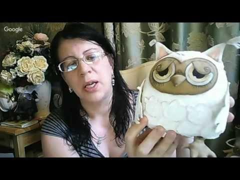 Вебинар.Анастасия Голенева.Шьем паучка-добрячка в технике грунтованный текстиль.