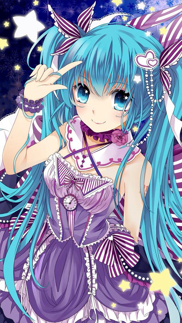 vocaloid cute miku anime - photo #4