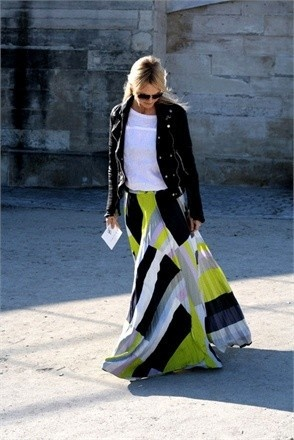 LOVE this maxi skirt!