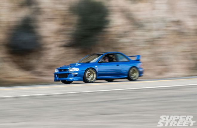 Read the story of Renner Motorsports' Ivo Mitkov and his Aerosim WRC widebodied, EJ257 swapped 1998 Subaru Impreza RS.
