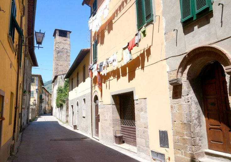 The Main Street of Via Lante in the historic centre