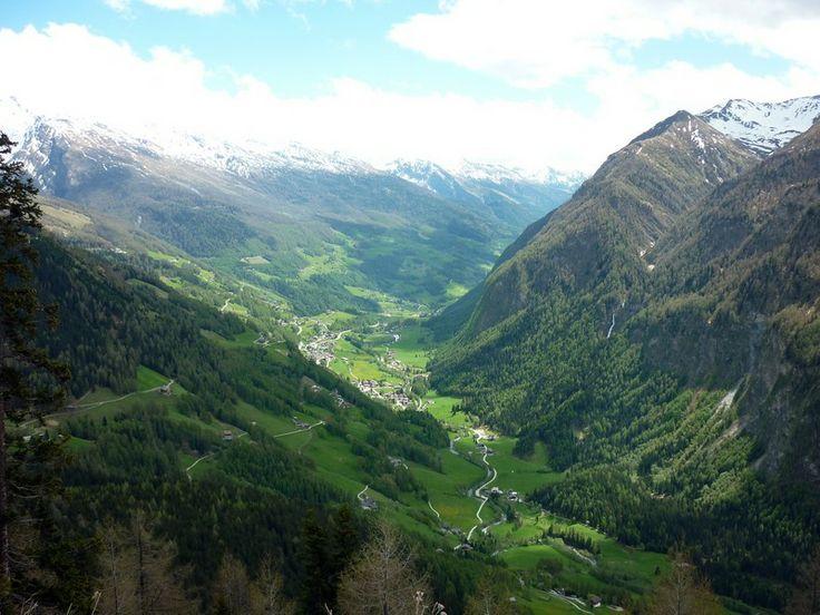 Látkép a Hohe Tauern Nemzeti Parkban