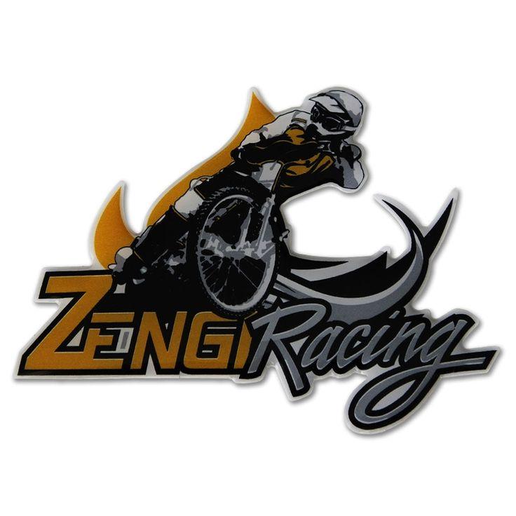 Naklejką żelowa na auto Zengi Racing Team