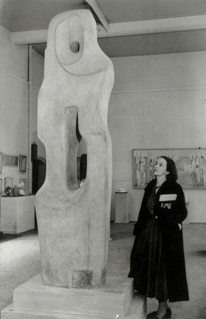 Barbara Hepworth Monolith (Empyrean) Limestone, 1953