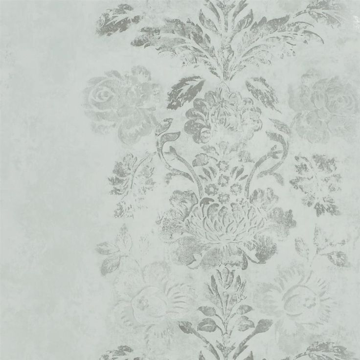 damasco - pale celadon wallpaper | Designers Guild