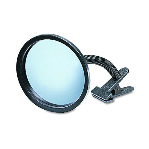 "See All ICU7 Personal Safety and Security Clip-On Convex Security Mirror, 7"" Diameter (Pack of 1)"