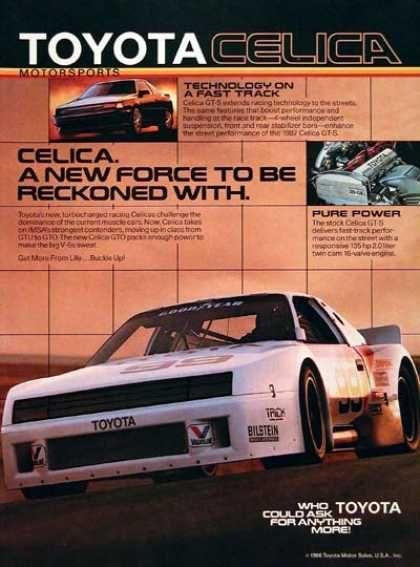 Toyota Celica GT-S #2 (1987)