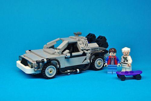 LEGO CUUSOO Back to the Future DeLorean