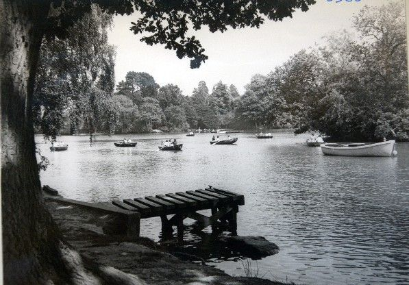 Tunbridge Wells  1970s and 80s Dunorlan Park in the summer of 1983