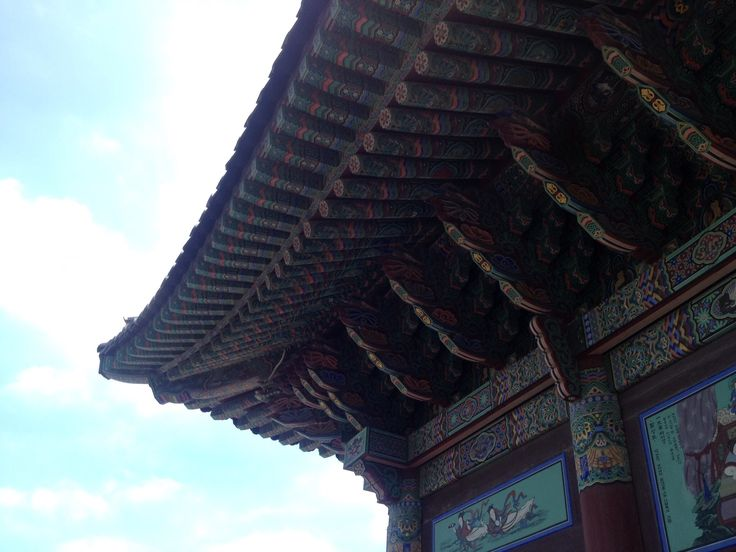Korean temple in Busan