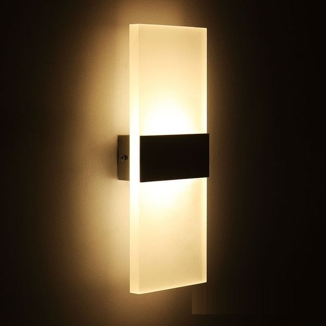 Modern Hang Led Wall Mount Lamp Soft Relax Light Indoor Stair