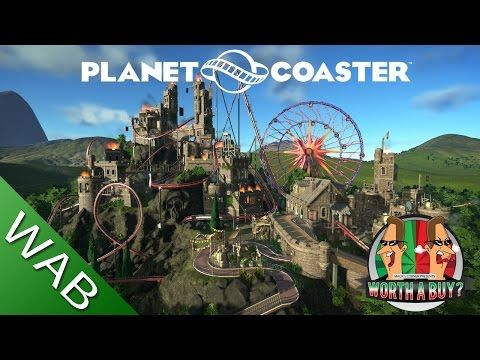 Planet Coaster אולי, יפיפה וקל מידי אין אתגר, עשוי עם גרפיקה מהממת ויכות עיצוב נפלאות  Planet Coaster Review - Worthabuy? - YouTube