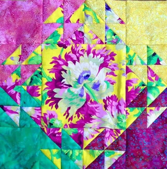 Anneke shimmering quilt