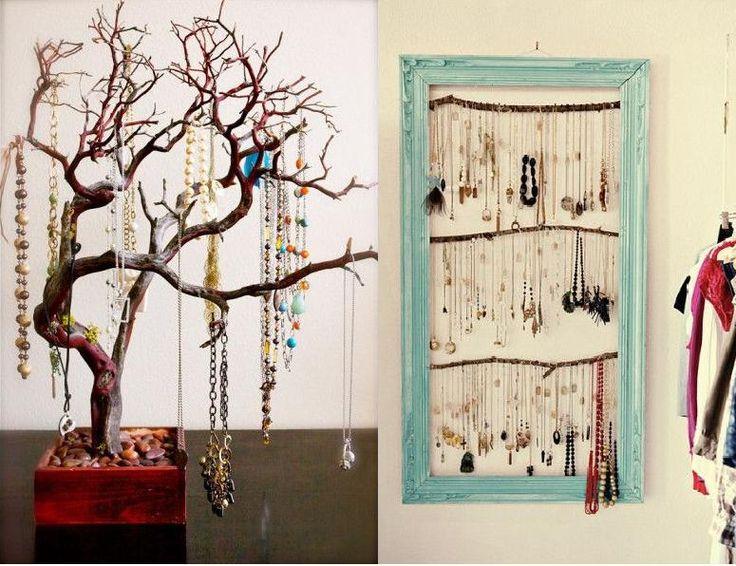Faça você mesmo o seu porta jóias com produtos naturais. Upcycle!