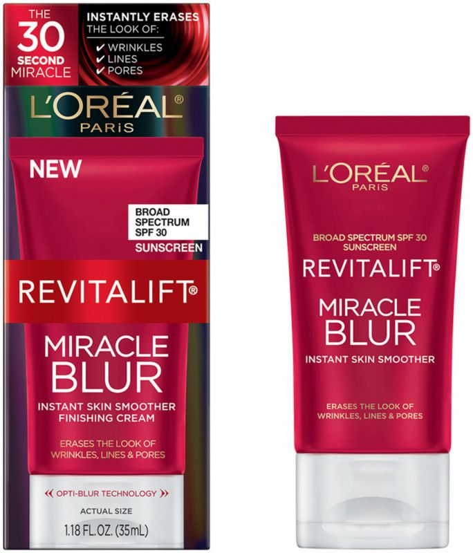 L'Oréal Revitalift Miracle Blur Instant Skin Smoother Finishing Cream SPF 30 Ulta.com - Cosmetics, Fragrance, Salon and Beauty Gifts