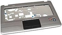 HP 619249-001 Top Cover Etch with Touchpad for Pavilion DV6 Series Laptop PC - Black, Silver
