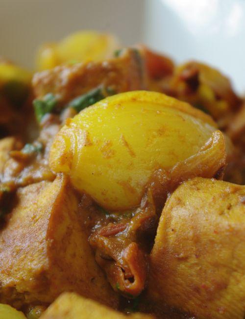 Recette indienne de tofu aux petits oignons - Cuisine vegetarienne et recettes…