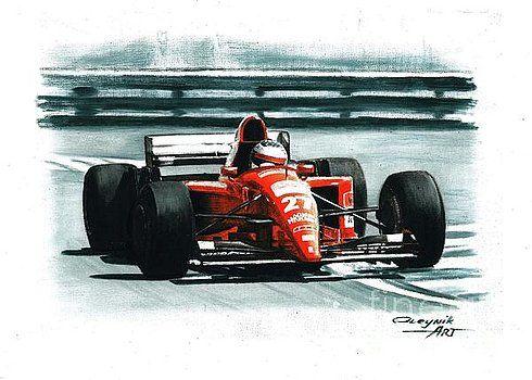 1995 Ferrari 412T2 by Artem Oleynik