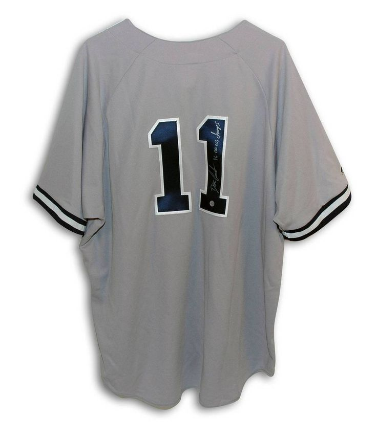 """Dwight 'Doc' Gooden New York Yankees Autographed Gray Majestic Jersey Inscribed """"96 00 WS Champs"""""""
