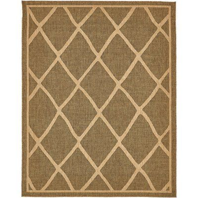 August Grove Thibodeau Brown Outdoor Area Rug Rug Size: 7' x 10'
