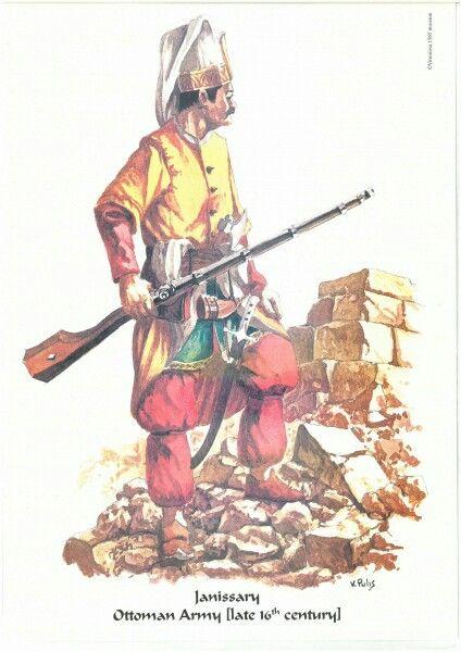 Janissary, late 17th century