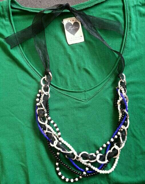 Mix and max necklace