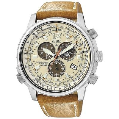 Citizen man chronograph watch Radio Controllati AS4020-44B - WeJewellery