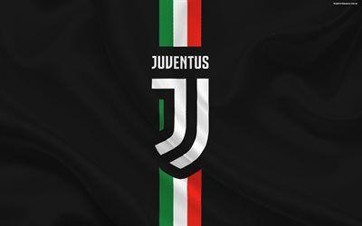 Scarica sfondi Juventus, il calcio, la nuova Juventus emblema, Italia, Serie A
