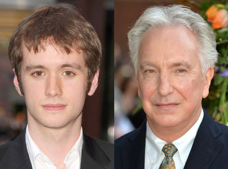 Sean Biggerstaff, Alan Rickman