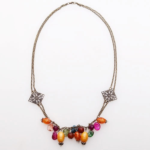Parels Grana Mix Color Necklace - Rp. 143.500