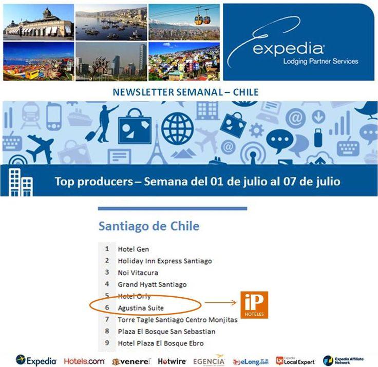 iP Hoteles - Expedia - Semana del 01 de julio al 07 de julio de 2013 - Agustina Suite
