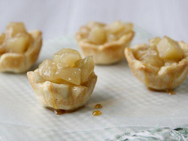 Mini Caramel Apple Pie Bites