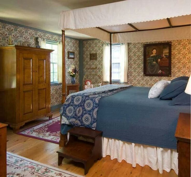 688 Best Colonial Bedrooms Images On Pinterest
