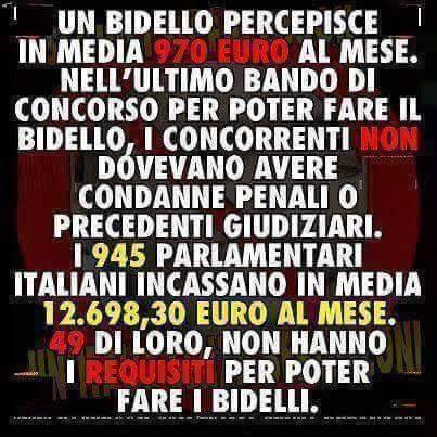 ...questa è l'Italia...intanto giovedi gnocchi!!!!!!!...contenti? --Ridere by Francesco- #ridere #ridiamo #humor #satira #umorismo #satirapolitica #sbruffonate #chucknorris