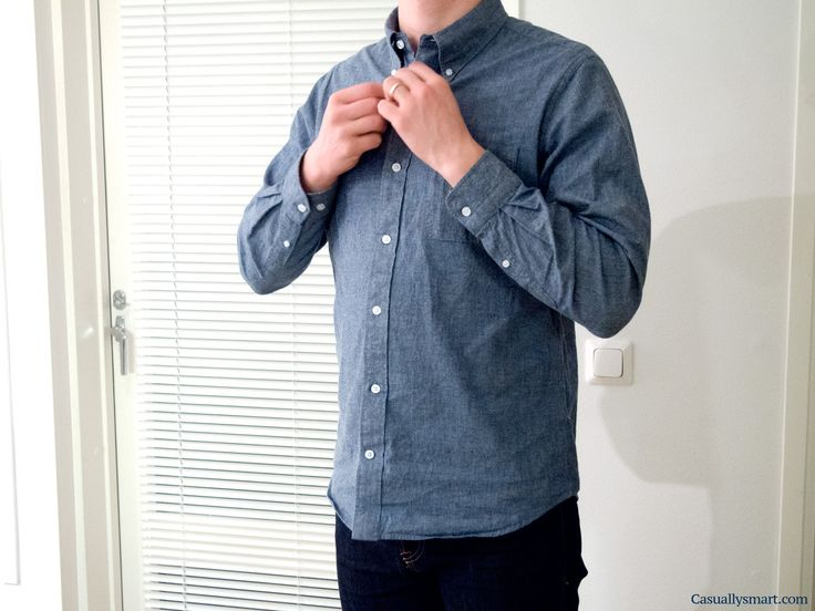 Lean Garments Chambray shirt