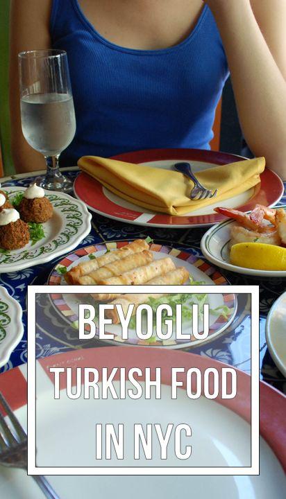 Beyoglu Turkish food in NYC