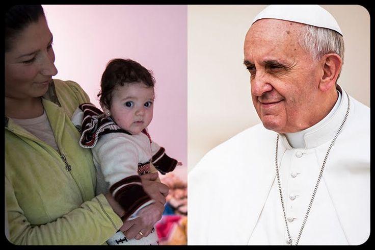 """La conmovedora carta de familias iraquíes al Papa Francisco  """"Nuestra fe hoy es más fuerte que antes"""", escriben, """"no tenemos miedo a nada porque estamos convencidos de que Dios está con nosotros"""""""