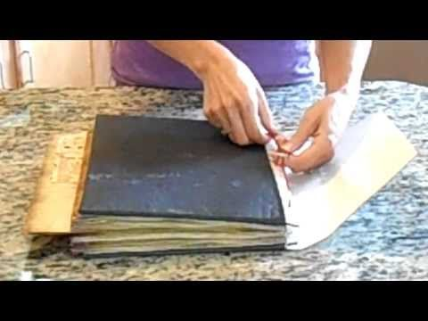 Pagan Scrapbook Supply - How To Make a Book of Shadows - YouTube  Here's a link to her Etsy shop where you can buy the supplies  http://www.etsy.com/shop/PaganScrapbookSupply