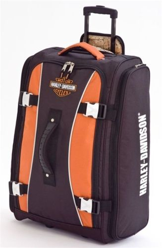 Harley-Davidson® Wheeled Hybrid Travel Luggage 29 Inch 99630-RUST/BLK