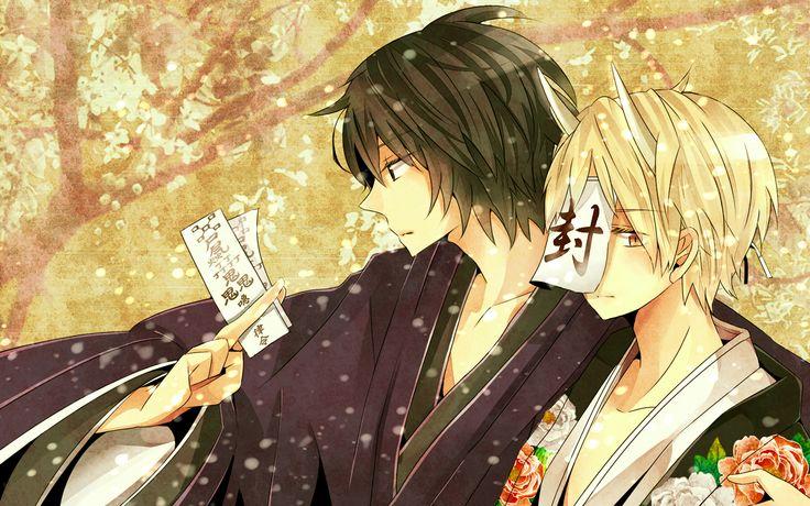 Natsume Yuuchinjou - Tanuma and Natsume. #Zerochan