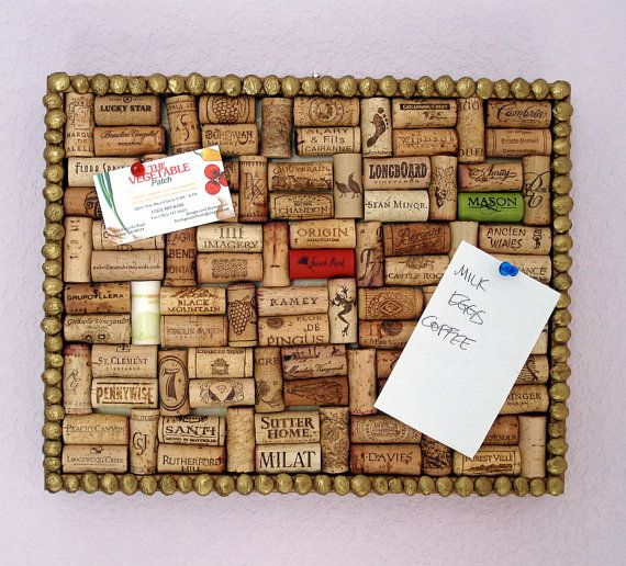 DIY cork board..so freaking cute! gotta start saving my corks :)