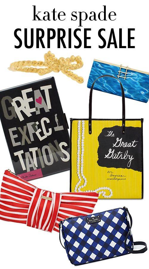 Small Handbags: Surprise Kate Spade Sale